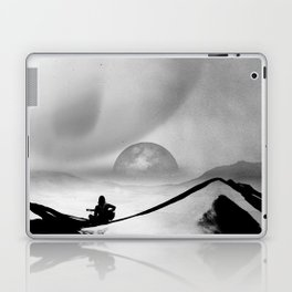 Black Space Song Laptop & iPad Skin