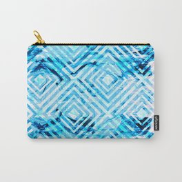 Abstract Liquid Paint Pattern Carry-All Pouch