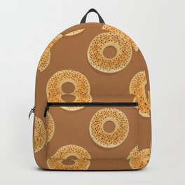 Freshly baked bagels Backpack