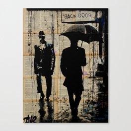 backdoor Canvas Print