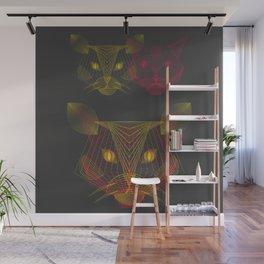 Fusion cats Wall Mural