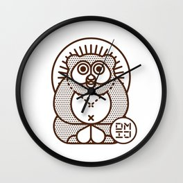 TANUKI Wall Clock