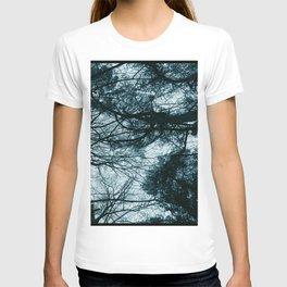 Blue Winter Trees T-shirt