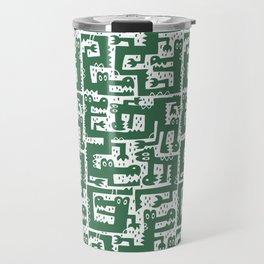 Alligator Alley Pattern Travel Mug