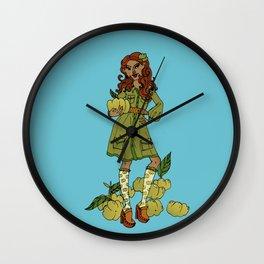 Ms Gooseberry Wall Clock