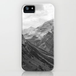 Majestic Sweep - Glacier NP iPhone Case