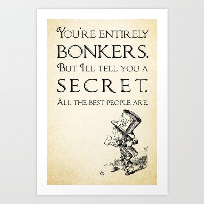 Printable Alice In Wonderland Quotes: Alice In Wonderland Quote
