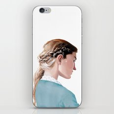 Blond Girl iPhone & iPod Skin