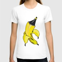 banana T-shirts featuring Banana  by Gaby Yerden