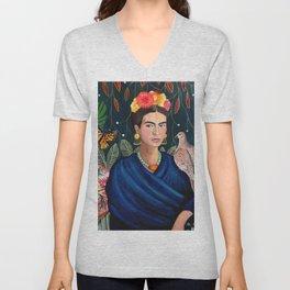 Frida et sa nature vivante Unisex V-Neck