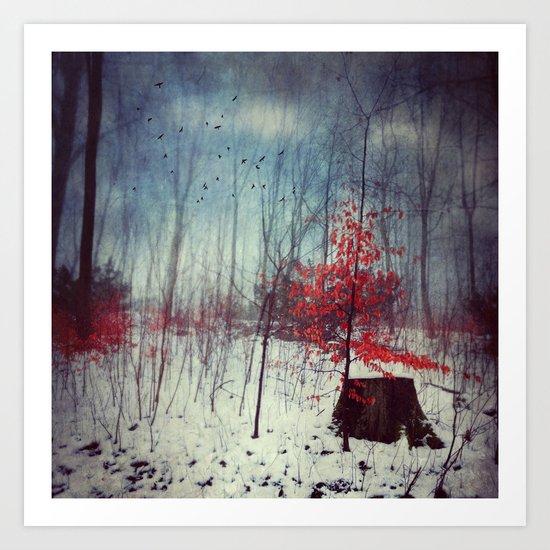 Midwinter Fantasy Art Print