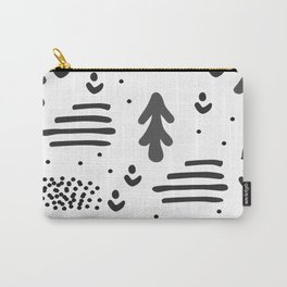 Sandinavian absract art Carry-All Pouch