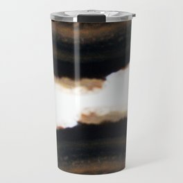Agate Translucent #Brown #1 #decor #art #society6 Travel Mug