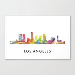 Los Angeles, California Skyline WB1 Canvas Print