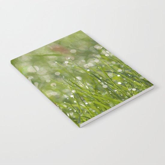 Fresh green meadow - Notebook