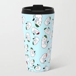 Mustelid xmas pattern #1 Travel Mug