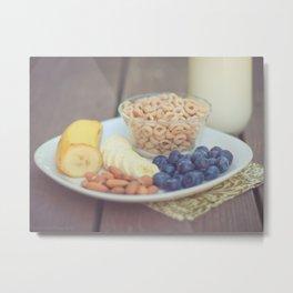 breakfast Metal Print