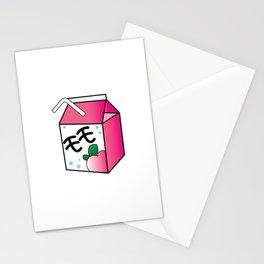 Kawaii Peach Juice Stationery Cards