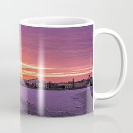 Winter Sunset, St. Petersburg, Russia Coffee Mug