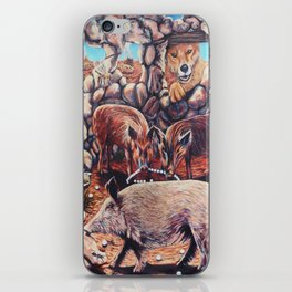 The Three Little Pigs iPhone Skin