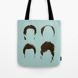 Seinfeld Hair Square Tote Bag