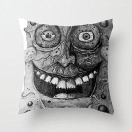 Disturbing Spongebob Throw Pillow
