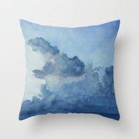 dinosaur Throw Pillows featuring Dinosaur by Tara de la Garza