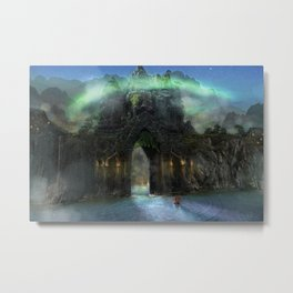 The Jade Gates Metal Print