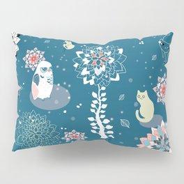 baby animals' reunion Pillow Sham