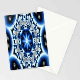kaleidoscope with dangely bits Stationery Cards