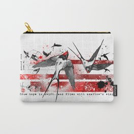wings of a swallow Carry-All Pouch