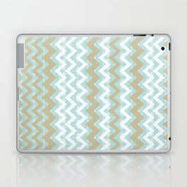 Chevrons and Dots Laptop & iPad Skin