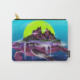 Turtle Paradise Carry-All Pouch