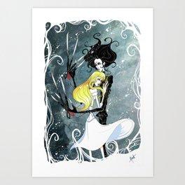 Edward & Kim Art Print