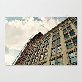 Clouds & city scapes Canvas Print