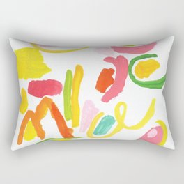 Abstract Landscape 1 Rectangular Pillow