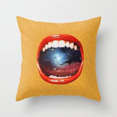 Taste Bud Regrowth Throw Pillow