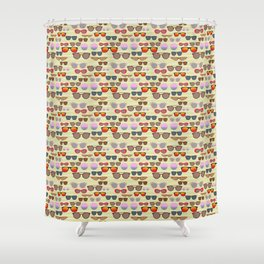 Eye Catcher Shower Curtain