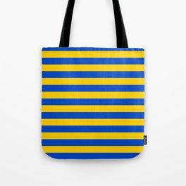 Asturias Sweden Ukraine European Union flag stripes Tote Bag