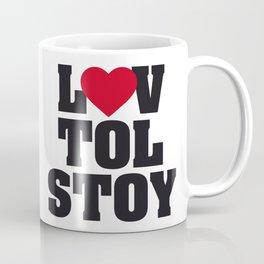 Lev LOVE Tolstoy Coffee Mug