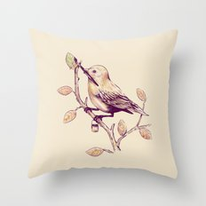 Getting Ready For Fall Throw Pillow