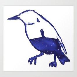 Stellar Bird Art Print