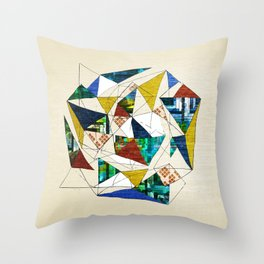 Geo Shapes no.1 Throw Pillow