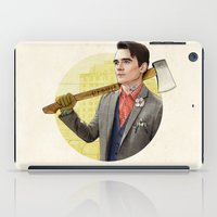 michigan iPad Cases featuring Mr. Michigan by keith p. rein