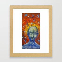 Existential Blues Framed Art Print