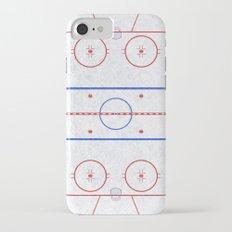 Hockey Rink iPhone 7 Slim Case