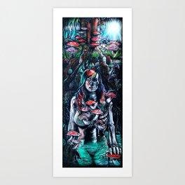 Burial Grounds Art Print