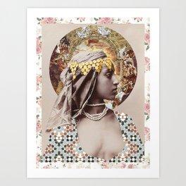 Proud Woman Art Print