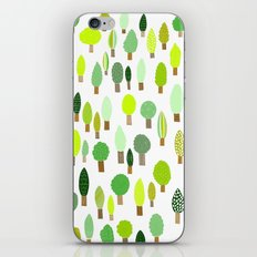 Wood U Green iPhone & iPod Skin