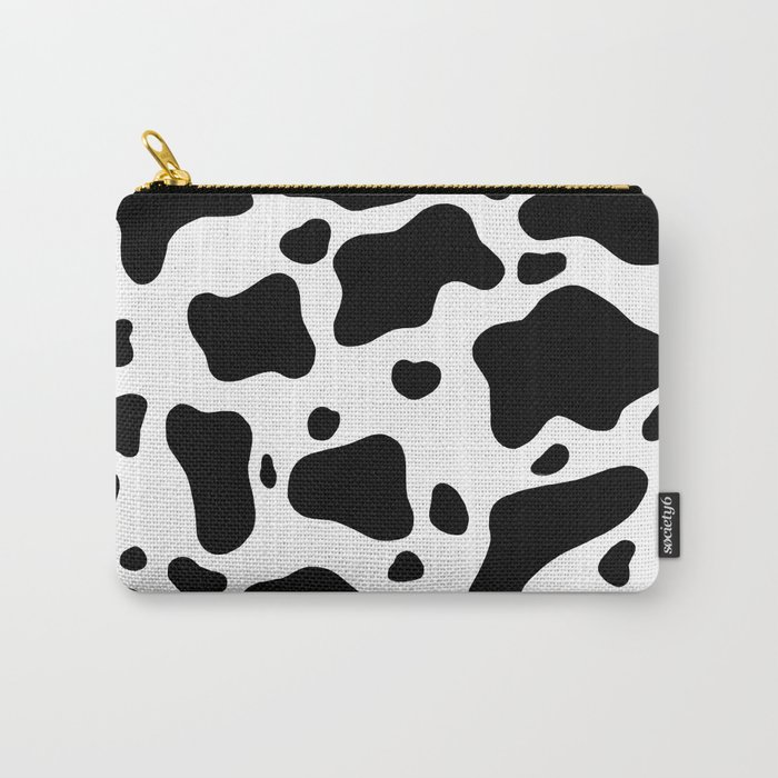 Cow Hide Carry-All Pouch
